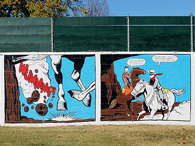 The Lone Ranger Mural, 1996 - 2016